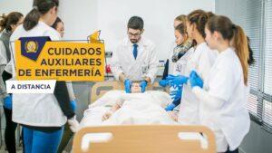 estudiar a distancia auxiliar de enfermeria - FP